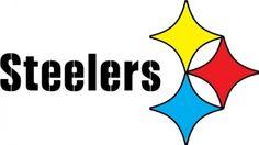 pittsburgh steelers logo vinyl decal 100 weather proof 6 year life rh pinterest com  steelers emblem stencil
