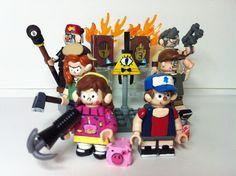 Lego Tv, Lego Custom Minifigures, Lego Creative, Amazing Lego Creations, Lego Harry Potter, Lego Projects, Kids Toys, Mickey Mouse, Lego Ideas