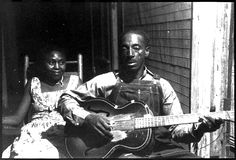 "Mississippi"" Fred McDowell born in 1904, did not own a guitar until 1940. (Source: The Encyclopedia of Jazz & Blues by Keith Shadwick"