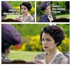 Downton Abbey is on lockdown...