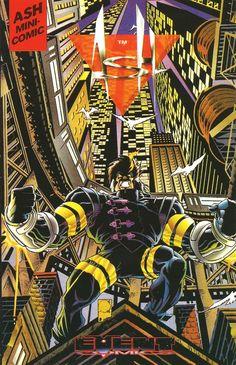 ASH Mini-Comic 4, Joe Quesada (cover, pencils and story), Jimmy Palmiotti (inks and story) - Event Comics / Wizard 2000