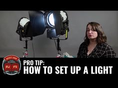 PRO TIP: How To Set Up A Light - YouTube