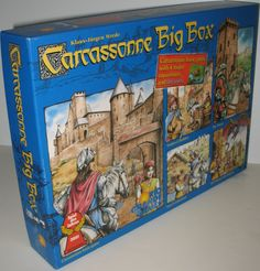 Carcassonne Big Box Basic Board Game with 4 Expansions. Find it on eBay by clicking on the picture. #ck #carcassonne #games