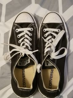 7b76781af489 Womens black converse size 6  fashion  clothing  shoes  accessories   unisexclothingshoesaccs