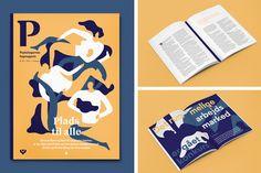 P Magazine cover by Quentin Monge #editorial #design #illustration #magazine
