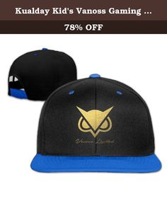 Kualday Kid's Vanoss Gaming Gold Owl Hats Caps RoyalBlue. If You Want To Buy Gift For Your Friend Or Family, It Is The Best Choice Is 100% Soft Cotton T Shirt And The Image Well Printed On The Front And Never Fade.