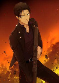 Anime Character Drawing, Character Illustration, Anime Manga, Anime Guys, Anime Boy Sketch, Amuro Tooru, Kaito Kid, Detective Conan Wallpapers, Detektif Conan