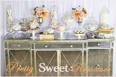 Gorgeous dessert buffet