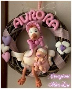Ghirlanda nascita cicogna ^_^