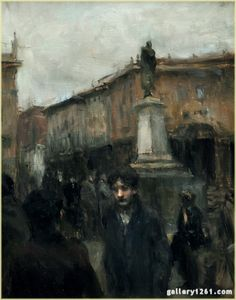 "Ron Hicks | ""Gray Day, Milan"" 