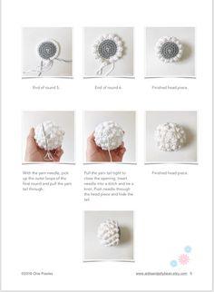 Amigurumi pattern tutorial english amigurumi sheep jessie the sheep pdf us terminology Crochet Sheep, Crochet Patterns Amigurumi, Crochet Toys, Amigurumi Toys, Yarn Dolls, Crochet Abbreviations, Cute Sheep, Yarn Tail, Sewing Basics