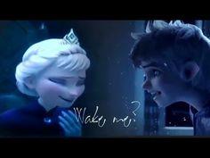 En serio ... ¿Por qué Jack Frost Y Elsa haría que la pareja más linda? es perfecto!!