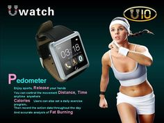 1.54 Inch U10 U Smart Anti-lost Bluetooth Watch Waterproof Smart Android Watch For Andriod Phone