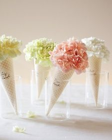 Clip-Art Carnation Cones   Step-by-Step   DIY Craft How To's and Instructions  Martha Stewart