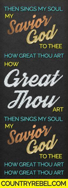"Jennifer Nettles & John Glosson's Powerful Cover Of ""How Great Thou Art"""