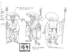 Ninja Scroll model sheet