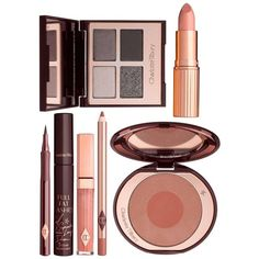 Charlotte Tilbury The Rock Chick Look Gift Box (611.270 COP) ❤ liked on Polyvore featuring beauty products, makeup, eye makeup, beauty and charlotte tilbury makeup