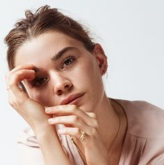 The star of the Coconut Balm Dotcom campaign on how Glossier found her (or how she found us, really) and which ads are good enough to get her to buy makeup