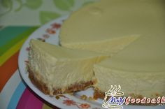 Baked durian cheesecake