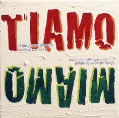 """Gloria Vanni, collageamodomio, pillol@ge, """"mi e ti amo"""", 2011."""