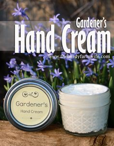 While you can leave this hand cream unscented, you can tweak it with you favorite essential oils—lavender, rose, jasmine, peppermint, spearmint and lemongrass are all nice choices.