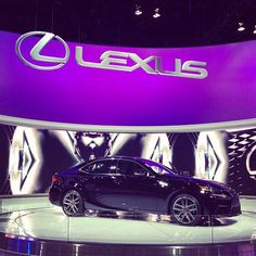 This Lexus is a beauty and will be seen as soon as guests enter the indoor area from the outdoor patio area.