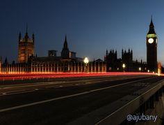Una llarga exposició del pont de Londres