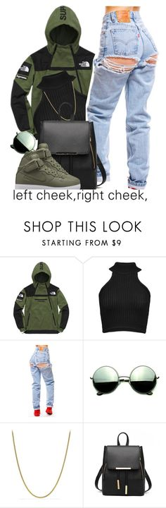 """Untitled #391"" by nanuluv ❤ liked on Polyvore featuring The North Face, Cushnie Et Ochs, Revo, David Yurman and Haze"
