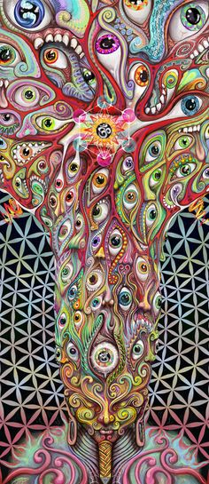 ☯☮ॐ American Hippie Bohemian Psychedelic Art ~ Eyes! Fractals, Visionary, Cool Artwork, Metal Posters, Psychedelic Art, Spiritual Art, Hippie Art, Print Artist, Visionary Art