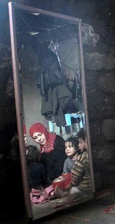 Shedding light on people's lives in Gaza Strip....-- the little boy with the curly hair looks like my baby brother, u dont understand how much i cried over this pic. #freepalestine✌