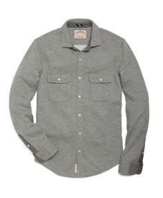 Brooks Brothers - Fleece Lined Button-Down Shirt