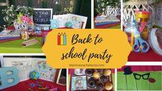 Back to School Party: qualche idea per alleggerire il rientro in città!