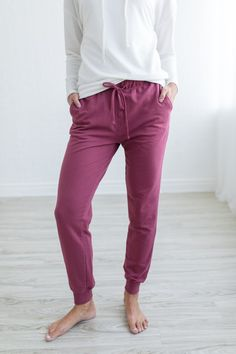 Trust us when we tell you, these are a must! Perfect to lounge around the house in, but cute enough to wear running errands! in several colors! Lounge Outfit, Lounge Wear, Color Run Outfit, Comfy Pants, Colourful Outfits, Joggers, Trust, Khaki Pants, Capri Pants