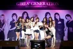 Girls' Generation's 5th Anniversary Party