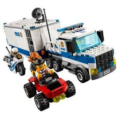 Shop LEGO City Mobile Command Center 60139 Multi at Best Buy. Find low everyday prices and buy online for delivery or in-store pick-up. Lego City Police, Lego Police Truck, Shop Lego, Buy Lego, Lego City Sets, Lego Sets, Mobile Command Center, Jail Cell, Lego Construction