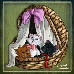 Berlioz, Toulouse & Marie - The Aristocats