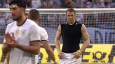 Lukas Podolski, Bastian Schweinsteiger and Manuel Neuer