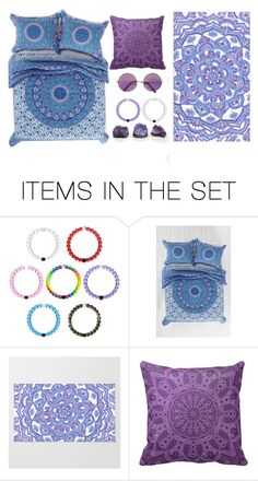 """""""The bohemian part of me 💜"""" by alessialex2000 ❤ liked on Polyvore featuring art"""