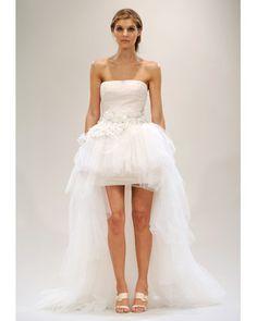 Reception Dress. <3  Still half-bridy, but half party time ! (: