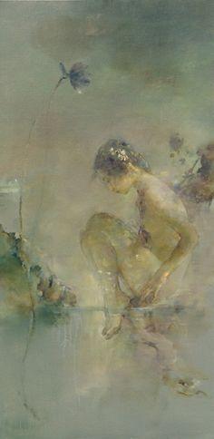 hu jun di paintings | Visions Fine Art Gallery - Sedona Arizona - Hu Jun Di