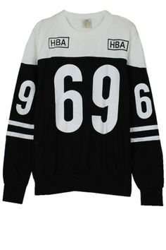 69 Color Block Sweatshirt
