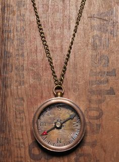 Vintage Compass Necklace | WE ARE ALL SMITH