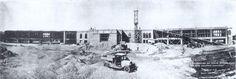 Construcción del Hospital Civil hoy Hospital Universitario. 10-Mayo-1933 fuente: http://fermintellez.blogspot.mx/2008/05/hospital-civil-hoy-hospital.html la fotografía fue compartida en Printeres