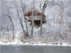 Cabins l Tree Houses Cabins Glamping   Unique Glamp Cabins in Missouri   Treetop Cabin Missouri