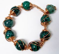 Eva Sherman Designs: FREE Caged Bead Bracelet Tutorial