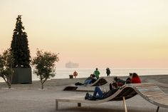 The beautiful sunset moves around city's structure and can be enjoyed at numerous spots. Port of Thessaloniki ! Thessaloniki, Beautiful Sunset, Outdoor Furniture, Outdoor Decor, Sun Lounger, Explore, City, Garden Furniture Outlet, Chaise Longue