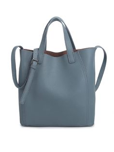 #AdoreWe Actinometer Zipper Solid Cowhide Leather Small Simple Tote - AdoreWe.com