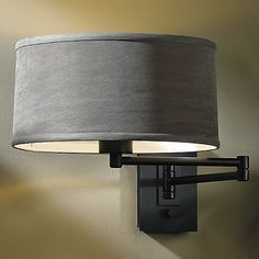 Simple Swingarm Wall Sconce by Hubbardton Forge at Lumens.com