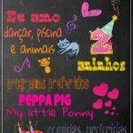 Convite Quadro Chalkboard 4