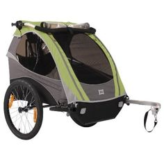 Burley D-Lite Orange Bicycle Trailer with Stroller Kit (Baby Product) my. Baby Bicycle, D Lite, Second Child, Outdoor Gear, Outdoor Fun, Just In Case, Children, Kids, Baby Strollers
